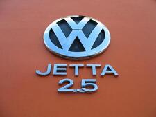 06 07 08 09 10 VW JETTA 2.5 REAR LID CHROME EMBLEM LOGO BADGE SIGN SYMBOL SET 16