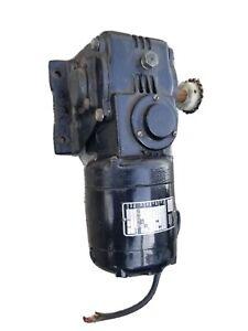 Bodine Fractional Horsepower Gearmotor NSH-34RJ 1/15 HP 1725 RPM