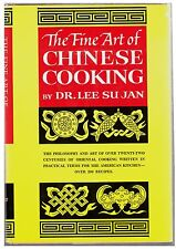 The Fine Art of CHINESE COOKING by Dr. Lee Su Jan (Hardcover, 1962)