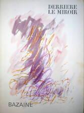 BAZAINE DERRIERE LE MIROIR LITHOS DLM 1968
