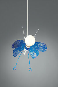 Childrens Ceiling Light - Butterfly Novelty Ceiling Light Ideal For Kids Bedroom