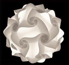 Modern Iq Light Jigsaw Lamp Puzzle Lamp Zelight White With Real Ikea Hemma Cord