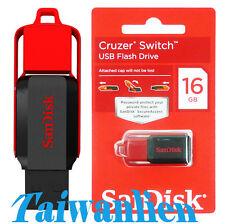 SanDisk USB2.0 Flash Pen Drive Cruzer SWITCH 16GB 16G Memory Stick Key Thumb