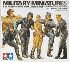 1/35 Tamiya 35214 - WWII Russian Tank Crew at Rest-  Figures - 5 Male - 1 Female