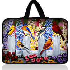 """Birds 16"""" 17"""" 17.3"""" inch Laptop Bag Case Pouch + Handle Notebook Cover Sleeve"""