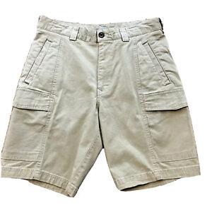 Tommy Bahama Men's Key Isles Khaki Cargo Shorts Sz 30 NWT $89 Beach