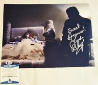 LINDA BLAIR REGAN SIGNED 11X14 PHOTO THE EXORCIST BECKETT COA 487