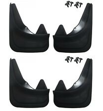 4 x Moulded Universal Fit Mud Flap Mudflaps Front or Rear to fit Hyundai Cars