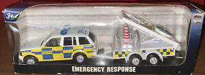 Police Emergency Response Diecast Model. Range Rover And Trailer. BNIB