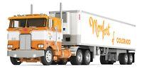 "FIRST GEAR MONFORT PETERBILT 352 COE 86"" SLEEPER 40' VINTAGE TR 1/64 DCP 60-0534"