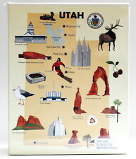 UTAH EMBOSSED PHOTO ALBUM 200 PHOTOS/ 4x6