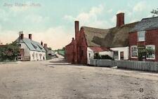 Bury Village  Post Office Nr Ramsey St Ives unused old pc Valentines
