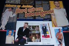 Justin Timberlake 39 pc German Clippings Full Pages shirtless