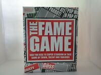 The Fame Game Board Game By Marks and Spencer Talent Trivia Tabloids Family Game