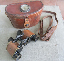 WWI Binoculars Bausch & Lomb Signal Corps US Army WWI Military SOLDIER's NAMED *