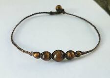 Tiger eye stone handmade Anklets for Men and Women,fashion anklets