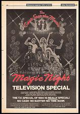 Village People - Magic Night_Original 1980 Trade Ad promo_poster_Bruce Jenner