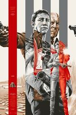MONDO Poster - Looper (Silver) - Martin Ansin - x/320