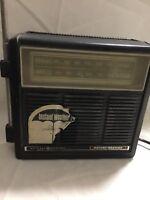 Vintage General Electric FM AM lW Instant Weather Radio Model 7-2841A -