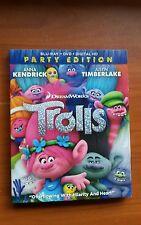 Trolls  BR , DVD, Digital HD  free shipping