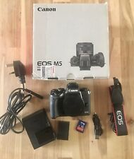 Canon EOS M5 24.2MP Mirrorless Digital Camera (Body Only)