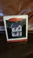 Cozy Home 1993 Hallmark Collector's Series Keepsake Ornament #10 Nostalgic House