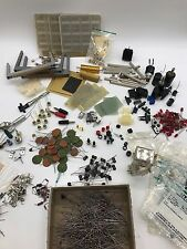 Huge Lot Vintage Electronic Components, Transmitters, Semiconductors & Circuits
