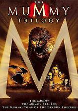 The Mummy Trilogy (DVD, 2012, 3-Disc Set) w Slipcover