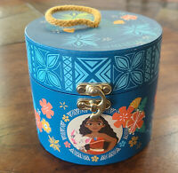 "2016 Disney Princess Moana Jewelry & Music Box ~ ""How Far I'll Go"" ~ Works! EUC"