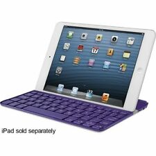 Logitech Ultrathin Protective Keyboard Cover For Apple iPad 3 Generation Purple