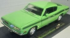 PLYMOUTH 1969 BARRACUDA ROAD SIGNATURE 1: 18 Scale Die Cas YAT MING