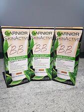 3X Garnier BB Crema 90% natural de origen Tinted Hidratante 50ml-medio