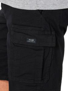 Men's Wrangler Cargo Shorts w/ FLEX Relaxed Fit Tech Pocket ALL SIZES 34 - 54