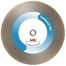 Diamond Saw Blade 10 Inch Wet Tile Steel Blades Continuous Rim Marble Ceramic
