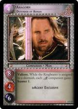 Lotr Tcg 0P127 Aragorn Defender of Rohan Foil promo Gem Mint unplayed