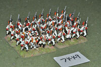 25mm 7YW / russian - seven years war infantry 32 figures metal - inf (7449)