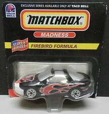 PONTIAC FIREBIRD FORMULA TRANS AM 1998 BLACK BELL MB MBX MATCHBOX TACO PROMO