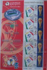 World Cup 2002 soccer Final Japan postage stamp sheet (Yokohama)