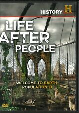 LIFE AFTER PEOPLE DVD History Channel WELCOME TO EARTH POPULATION 0