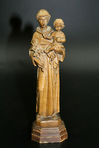 Holzskulptur Heiliger Antonius