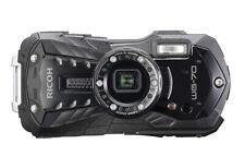 Ricoh WG-70 Unterwasserkamera Outdoorkamera schwarz + Zubehörpaket All inclusive