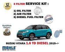 PARA SUZUKI VITARA 1.6dt DDiS 2015> NUEVO Aire Aceite Combustible 3
