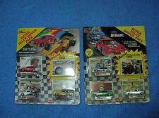 NASCAR Diecast 90s 3pks Davey Allison Black White Moroso Michael Waltrip Elliott