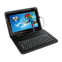 "For 10.1"" 10.1"" 10.2"" Tablet PC Flip Stand Cover Case + USB Keyboard"