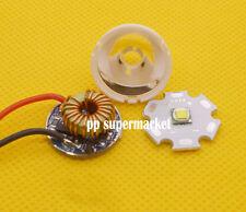 Cree XM-L LED T6 White Light + 5 Modes LED Driver + Lens with Base Holder