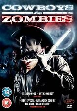 Cowboys And Zombies (2011) David A. Lockhart, Camille Montgomery NEW UK R2 DVD