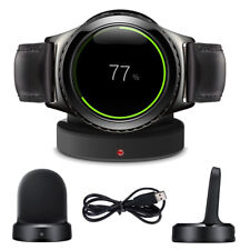 Qi Wireless Charging Dock Cradle Portable Chargeur Samsung Gear S2 SM-720 730 732