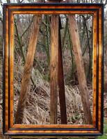 antiker Prunkrahmen Galerierahmen Massivholz 80 x 60 FM 70 x 50 cm Holzrahmen