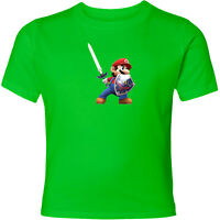 Nintendo Mario The Legend of Zelda Link Unisex Men Women Hero Video Game T-Shirt
