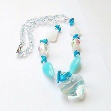 Turquoise Glass Alloy Costume Bracelets